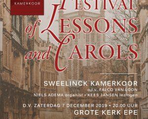 Grote kerk te Epe concert door Sweelinck Kamerkoor