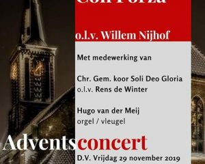 Hervormde kerk te Stolwijk adventsconcert