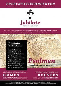 Ommen Christelijk koor Jubilate geeft presentatieconcert