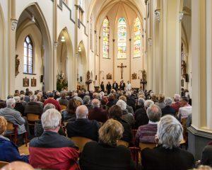 Russisch koor geeft kerstconcert op Tweede Kerstdag in de St.Servatiuskerk te Megen