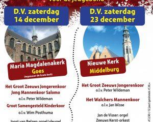 Zeeuws kerstconcert in de Maria Magdalenakerk te Goes