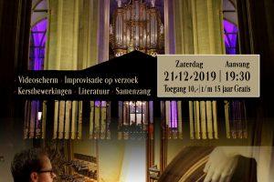 Bastiaan Stolk geeft kerstconcert in de Bovenkerk van Kampen