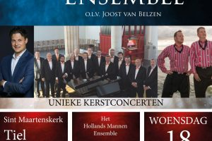 Christmas met het Hollands Mannenensemble in Tiel
