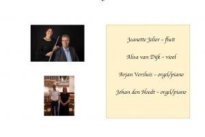 Feestelijk nieuwjaarsconcert in De Wijnstok te Dordrecht