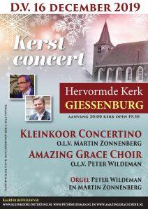 Hervormde kerk te Giessenburg kerstconcert