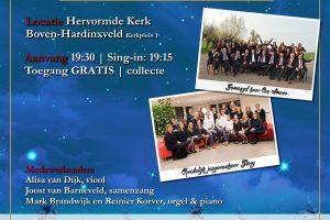 Kerstconcert Open Doors in Boven-Hardinxveld