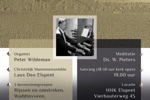 Laus Deo te Elspeet zingt in de Hersteld Hervormde kerk