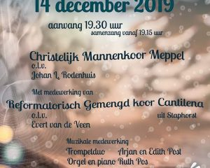 Mariakerk in Meppel adventsconcert met samenzang