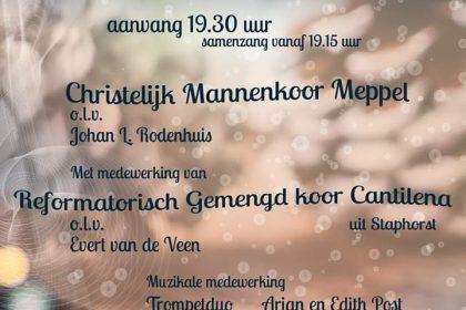 Mariakerk in Meppel adventsconcert met samenzang
