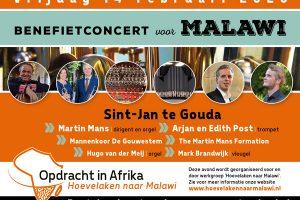 Sint-Jan te Gouda benefietconcert voor Malawi