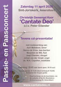 Cantate Deo paasconcert in de Sint-Joriskerk van Amersfoort