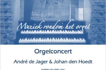 Johan den Hoedt en André de Jager in concert in 'de Wijnstok' Dubbeldam