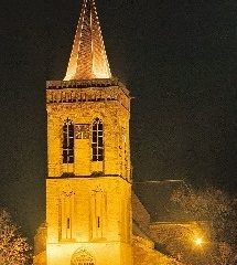 Oude kerk te Ede psalmzang met samenzang