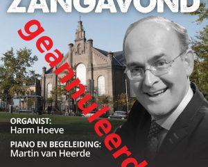 Plantagekerk te Zwolle mannenzangavond