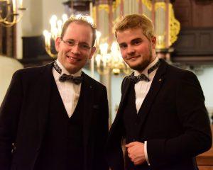 Duo Virtuoso en Alisa van Dijk in concert vanuit de Trinitatiskapel te Dordrecht