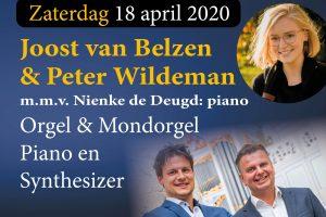 Grote kerk te Tholen liveconcert Duo vier handen
