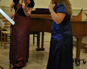 Trinitatiskapel te Dordrecht duo Henske Bakker en Alisa van Dijk live-concert