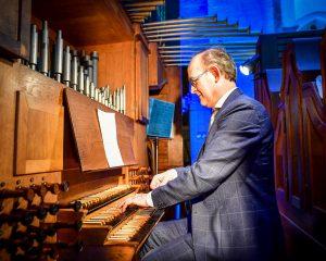Academiehuis Grote Kerk te Zwolle orgelconcert met Harm Hoeve