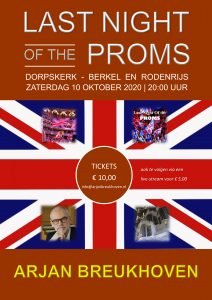 Arjan Breukhoven Last Night of the Proms