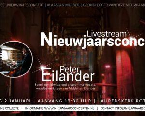 Traditioneel nieuwjaarsconcert Peter Eilander