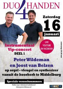 Koorkerk te Middelburg met Duo 4 handen in 2021