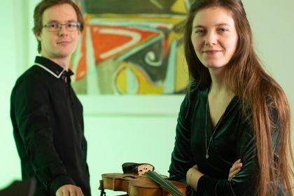Aleida Groeneveld en Martin Kaptein geven online concert vanuit Jacoba Cultuurhuis