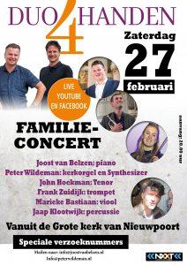 Familieconcert Duo 4 handen Grote kerk van Nieuwpoort