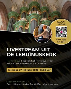 Lebuinuskerk te Deventer orgelconcert Harm Hoeve