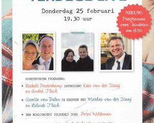 Terdege Live Donderdag 25 januari 2021 met Peter Wildeman