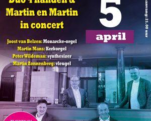 Martin en Martin & Duo 4 handen op 2e paasdag