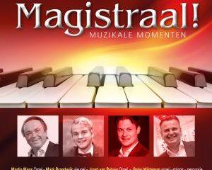 Cd Magistraal, 4 bekende organisten op orgels, vleugel en synthesizer