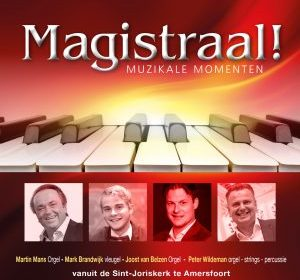 Cd Magistraal, 4 bekende organisten op orgels, vleugel en synthesizer