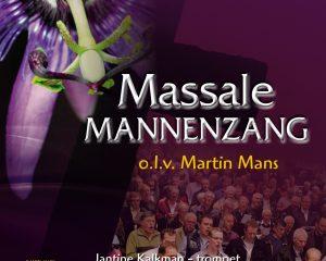 Cd Massale mannenzang Lijdenstijd en Pasen onder leiding van Martin Mans