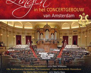Cd zingen in het concertgebouw van Amsterdam