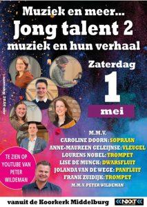Jong talent vanuit de koorkerk te Middelburg