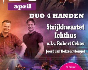Strijkkwartet Ichtus en Duo 4 handen