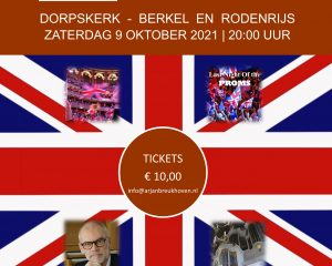 Arjan Breukhoven Night of the proms 2021
