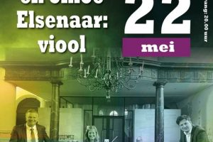 Chloë Elsenaar viool en Duo 4 handen vanuit de Augustijenkerk te Dordrecht