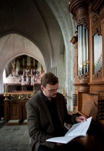 Sietze de Vries geeft een online concert in de Sionskerk van Terschuur