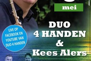 Uniek moederdagconcert met Duo 4 handen en Kees Alers