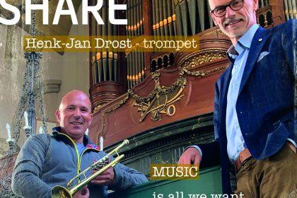 Cd Share van Arjan Breukhoven en Hendrik-Jan Drost
