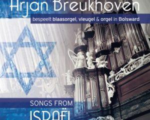 Cd Songs of Israël met Arjan Breukhoven