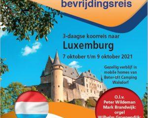 Het Hollands Jongerenkoor heeft een koorreis naar Luxemburg