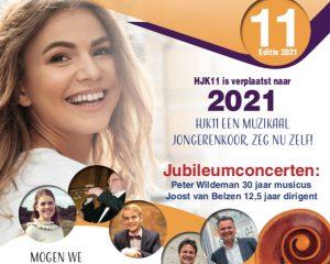 Het Hollands jongerenkoor 11 is verplaatst naar 2021