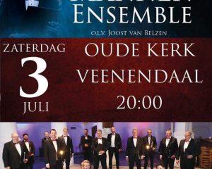 Oude kerk van Veenendaal met het Hollands Mannenensemble