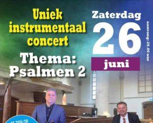 Robert Cekov en Peter Wildeman geven concert over psalmen deel 2