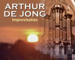 Cd Arthur de Jong improvisaties vanuit Zaltbommel