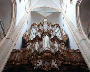 Evert van de Veen geeft orgelconcert in de Bovenkerk van Kampen