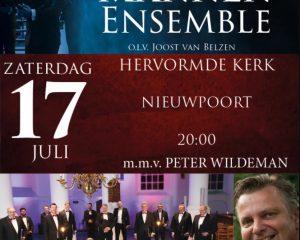 Hervormde kerk te Nieuwpoort concert met Hollands Mannenensemble