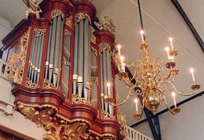 Vredeskerk te Katwijk orgelconcert met Evert van de Veen